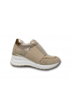 Inblu IN261 Scarpe Donna Sneakers Slip On Strass Nude Francesine e Sneakers IN255NUD