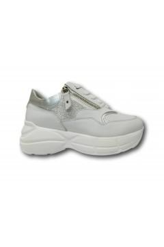 KEYS K 4200 Scarpe Donna Sneakers Volume Stringate Bianco Francesine e Sneakers K4200BIA