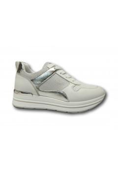 Inblu IN256 Scarpe Donna Sneakers Stringate Platform Bianco Francesine e Sneakers IN256BIA