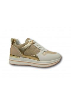 Inblu IN256 Scarpe Donna Sneakers Stringate Platform Nude Francesine e Sneakers IN256NUD