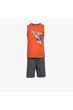 Diadora 102.177120 JB Set SL Logo Elements Junior Unisex Arancione Abbigliamento Bambino 10217712040063