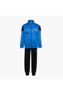 Diadora 102.177133 JB Tracksuit FZ Diadora Club Tuta Junior Unisex Blu Abbigliamento Bambino 10217713360084