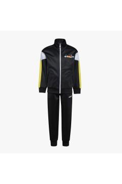 Diadora 102.177133 JB Tracksuit FZ Diadora Club Tuta Junior Unisex Nero Abbigliamento Bambino 10217713380013