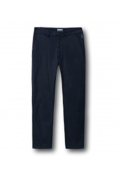 Napapijri NA4FA8 Pantalone Chino Cotone Stretch Blu Pantaloni e Shorts NA4FA81761