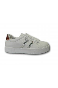 Refresh 72863 Scarpe Donna Sneakers Platform Stringate Bianco Francesine e Sneakers R72863BIA