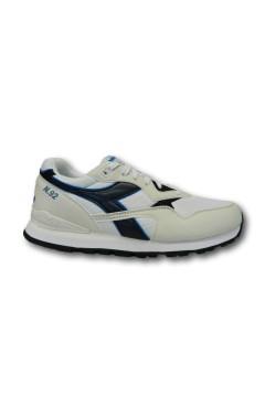 Diadora N. 92 Scarpe da Running Uomo Sneakers Stringate White Blu Corsair Scarpe Sport 101173169C1494