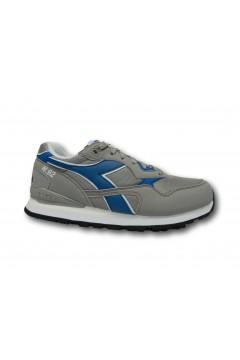 Diadora N. 92 Scarpe da Running Uomo Sneakers Stringate Grigio Blu Scarpe Sport 101173169C9231