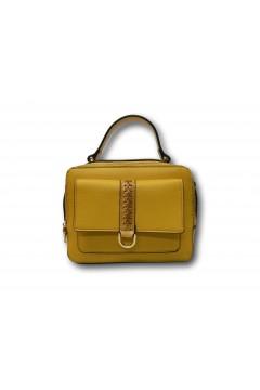 Romeo Gigli Milano B1042 Alan Mini Bag Con Tracolla Donna Giallo Borse B1042067