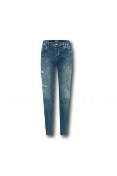 LTB 51319 Servando X D Jeans Uomo Tapered Blu Greenlight Pantaloni e Shorts LTB51319GLB