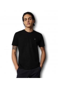 Napapijri NA4EW8 Salis C SS T-Shirt Uomo in Cotone Nero T-Shirts NA4EW80411