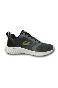 SKECHERS 232004 CCGY Verkona Sneakers Uomo Memory Foam Grigio Scarpe Sport 232004CCGY