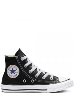 Converse 3J231C Chuck Taylor All Star Classic Unisex Sneakers Mid Canvas Nero Scarpe Bambina 3J231C
