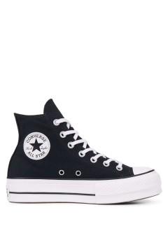 Converse 560845C Chuck Taylor All Star Sneakers Mid Canvas Nero Francesine e Sneakers 560845C
