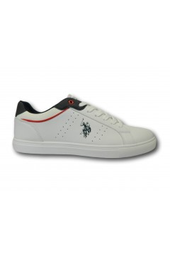 U. S. Polo Assn. Curt Scarpe Uomo Sneakers Stringate Bianco Sneakers CURTWHI