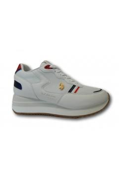 U. S. Polo Assn. LIVY Sneakers Donna Zeppa Platform Bianco  Francesine e Sneakers LIVYWHI