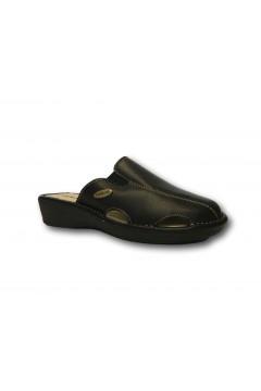 Tiglio 1629 Pantofole Donna Nero Ciabatte e Infradito T1629NR