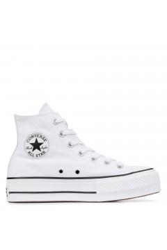 Converse 560846C Chuck Taylor All Star Platform High-Top Bianco Francesine e Sneakers 560846C