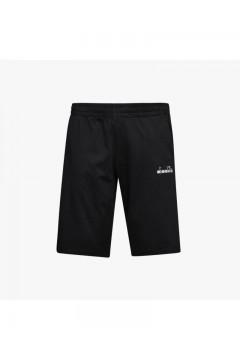 Diadora 102.177886 Bermuda Core Uomo Cotone Nero Pantaloni e Shorts 10217788680013