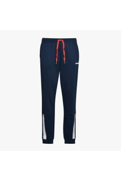 Diadora 102.177070 Cuff Pants Diadora Club Pantaloni Uomo Cotone Garzato Blu Pantaloni e Shorts 10217707060063
