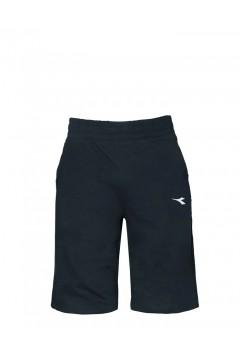 Diadora 102.177885 Short Core Pantaloncini Uomo Cotone Blu Corsair Pantaloni e Shorts 10217788560063