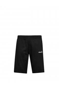 Diadora 102.177885 Short Core Pantaloncini Uomo Cotone Nero Pantaloni e Shorts 10217788580013