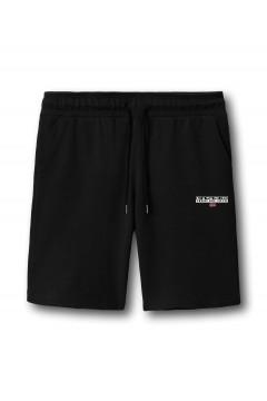Napapijri NA4F7B Pantaloncino da Tuta N Ice Uomo Nero Pantaloni e Shorts NA4F7B