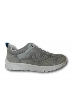 Geox U TIVANO B U029UB Sneakers Uomo Stringate Grigio Sneakers UO29UB014U5C1006GR