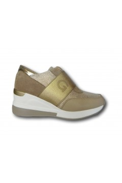 Gold & Gold GB31 Scarpe Donna Sneakers Slip On Oro Francesine e Sneakers GB31ORO