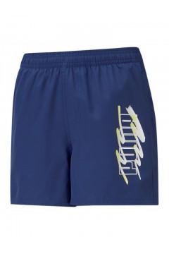 Puma 586978 Summer Shorts Bambino Blu Abbigliamento Bambino 58697812