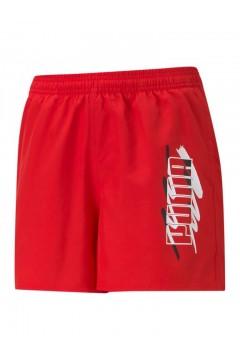 Puma 586978 Summer Shorts Bambino Rosso Abbigliamento Bambino 58697811