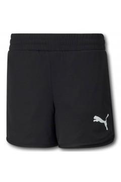 Puma 587008 Active Shorts Bambina Nero Abbigliamento Bambina 58700801