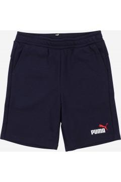 Puma 586989 Essential 2 Col Shorts Bambino Blu Abbigliamento Bambino 58698906