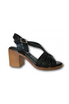 XTI 42337 Sandali Donna con Tacco Medio Nero Sandali XTI42337NR