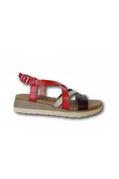 XTI 42715 Sandali Donna Zeppa Bassa Rosso Multicolor Sandali XTI42715RSS