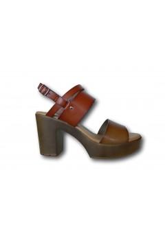XTI 42704 Sandali Donna con Tacco Medio Cuoio Sandali XTI42704CU