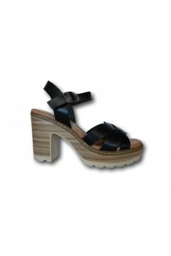 XTI 42716 Sandali Donna con Tacco Medio Nero Sandali XTI42716NR