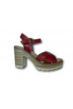 XTI 42716 Sandali Donna con Tacco Medio Rosso Sandali XTI42716RSS