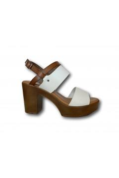 XTI 42704 Sandali Donna con Tacco Medio Bianco Sandali XTI42704BIA