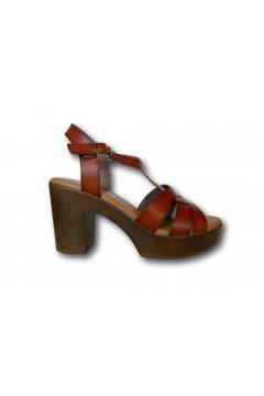 XTI 42747 Sandali Donna con Tacco Medio Cuoio Sandali XTI42747CU