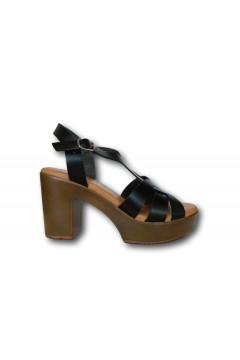 XTI 42747 Sandali Donna con Tacco Medio Nero Sandali XTI42747NR