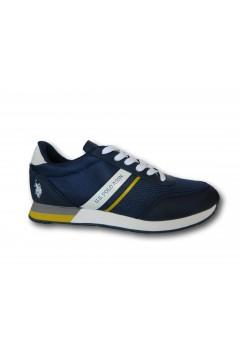 U. S. Polo Assn. BRANDON2 Scarpe Uomo Sneakers Stringate Blu Sneakers BRANDON2BLU