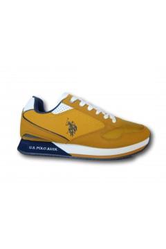 U. S. Polo Assn. NOBIL183 Scarpe Uomo Sneakers Stringate Giallo Sneakers NOBIL183GLL