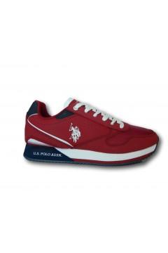 U. S. Polo Assn. NOBIL183 Scarpe Uomo Sneakers Stringate Rosso Sneakers NOBIL183RSS