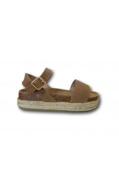 XTI 57428 Sandali Bambina Platform con Cinturino alla Caviglia Cuoio Scarpe Bambina XTI57428CU