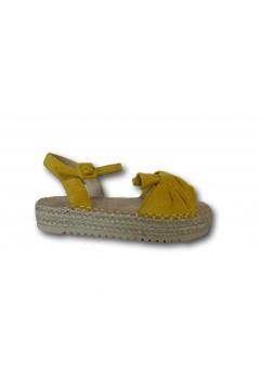 XTI 57454 Sandali Bambina Platform con Cinturino alla Caviglia Giallo Scarpe Bambina XTI57454GLL