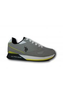 U. S. Polo Assn. NOBIL183 Scarpe Uomo Sneakers Stringate Grigio Sneakers NOBIL183LIGR