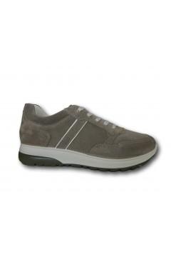 IMAC 702021 Scarpe Uomo Sneakers Stringate Made in Italy Beige Sneakers IMAC702021BG