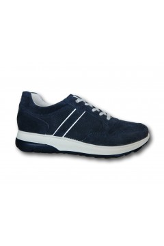 IMAC 702021 Scarpe Uomo Sneakers Stringate Made in Italy Blu Sneakers IMAC702021BLU