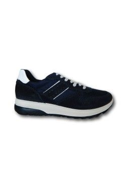 IMAC 702010 Scarpe Uomo Sneakers Stringate Made in Italy Blu Sneakers IMAC702010BLU