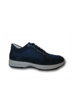 IMAC 701201 Scarpe Uomo Sneakers Stringate Made in Italy Blu Casual IMAC701201BLU